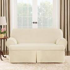 sure fit slipcovers by mail sure fit contrast cord natural chair t