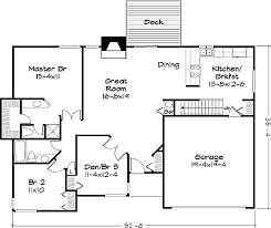 New Ranch Style House Plans by Ranch Style House Plan 2 Beds 2 00 Baths 1400 Sq Ft Plan 320 328