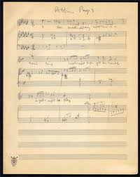 george gershwin a sketch for porgy and bess the moldenhauer