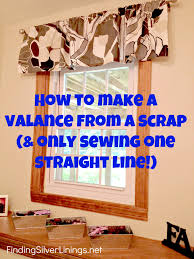 Valance Curtain How To Make A Valance From A Really Long Curtain Finding Silver