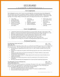 Lead Generation Resume 7 Core Competencies Resume Students Resume