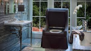 what this luxurious victorian style chair is actually a toilet