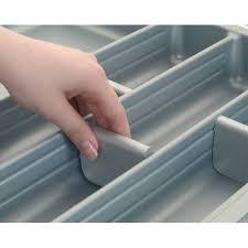 rangement couverts tiroir cuisine séparateurs pour range couverts serie 500 accessoires cuisines