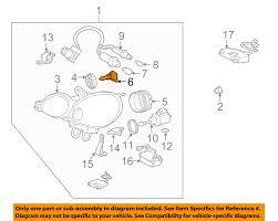 lexus gs300 parts diagram 1998 2005 lexus gs300 es330 headlight bulb 90981 20001 genuine oem