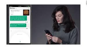 starbucks unveils chatbot app for ordering jan 30 2017