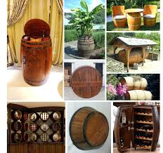 wine rack recycled solid oak whisky barrel dundee gold coffee