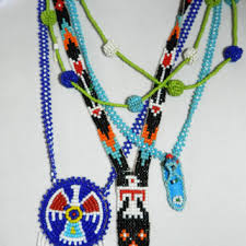 indian beaded necklace images Best vintage native american beaded necklaces products on wanelo jpg