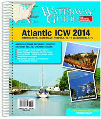 Florida Intracoastal Waterway Map by Waterway Guide Atlantic Icw 2014 Waterway Guide Intracoastal