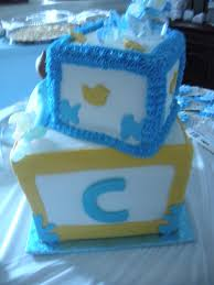 abc blocks baby shower cake cakecentral com