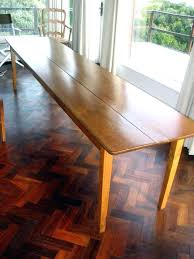 narrow dining table with bench farmhouse plans 2017 picture room