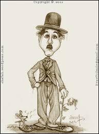 caricature cartoon of charlie chaplin u2013 the silent millionaire