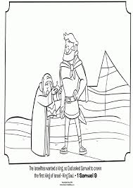 bible coloring pages king saul best coloring page site