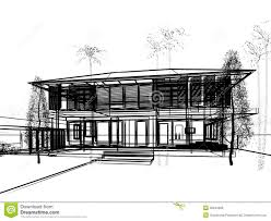 sketch design of house royalty free stock image image 36944826