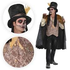 witch doctor and voodoo doll costume mens voodoo shaman witch doctor louisiana snake halloween fancy