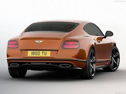 bentley supercar bentley continental gt speed black edition 2017 pictures