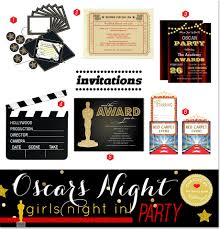 how to plan an oscars viewing party a glam girls night in