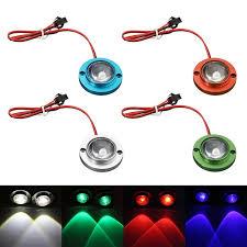 led strobe lights for motorcycles 2pcs car motorcycle led strobe flash warning light brake tail light