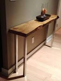 salvaged wood console table reclaimed barn wood console table with metal legs inspiration for