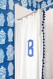 Monogram Shower Curtains One Room Challenge Week Six Design Darling