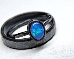 Opal Wedding Ring Sets by Opal Wedding Etsy