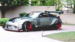 nissan coupe 350z nissan 350z coupe tuning air suspension full hd 1080p trap