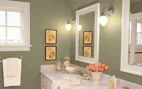 attractive color ideas for bathroom walls with bathroom paint
