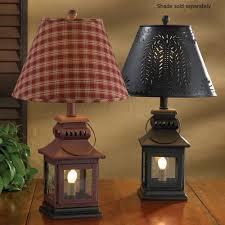 amazon com black iron lantern lamp home improvement