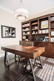 Built In Office Desk Ideas Office Desk Design Home Office Traditional With Brown Leather