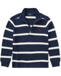Sweater Toddler Amazing Deal On Ralph Striped Half Zip Sweater Toddler