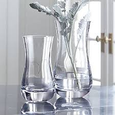 Trio Vases Decorative Vases Glass And Ceramic Crate And Barrel