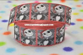 skellington ribbon skellington flatback resin cabochon decoden