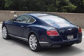 blue bentley 2014 bentley continental gt v8 s stock 4nc096190 for sale near