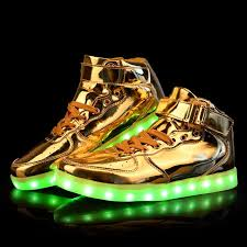 gold light up sneakers 22 best mens led light up shoes images on pinterest lighting