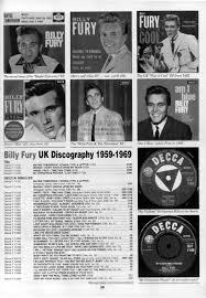billy fury articles