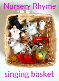 thanksgiving rhyme nursery rhyme singing basket baby and toddler play the