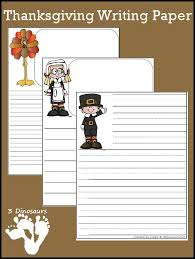 free thanksgiving writing paper 3dinosaurs homeschooling