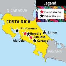 san jose costa rica on map costa rica