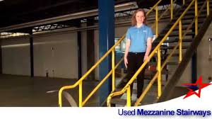 Mezzanine Stairs Design Mezzanine Stairway For Building Interiors Youtube