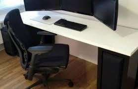 L Shaped Adjustable Height Desk by Desk Adjustable Height Desk Adventure Ergonomic Table