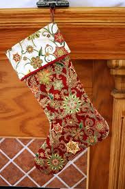 Christmas Stocking Tree Decoration Template by 59 Best Christmas Stockings Images On Pinterest Christmas Crafts
