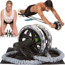 Weight Bench Ab Exercises Amazon Com Ab Wow 3000 Abdominal Workout Wheel Roller Sculpt 3xs