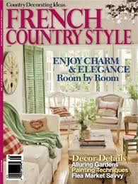 Cottage Living Magazine by About Me French Country Cottage