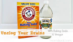 clogged bathroom sink baking soda vinegar unclog your drains with baking soda and vinegar natural cleaning