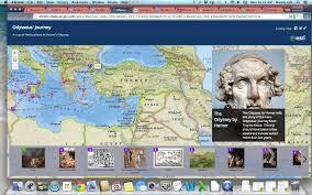 Odyssey Map The Odyssey Timeline Youtube