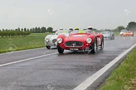 1954 maserati a6gcs vintage racing car maserati a6 gcs 53 1954 in rally mille miglia