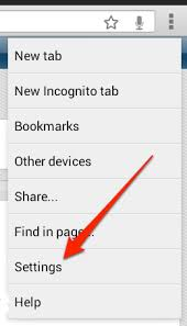 clear history android how to clear the browsing history of chrome for android