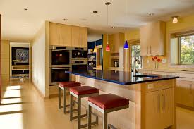 Under Cabinet Lighting Kitchen by Seagrass Bar Stools Kitchen Contemporary With Recessed Lighting