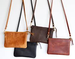 Handmade Leather Tote Bag - handmade leather bag etsy