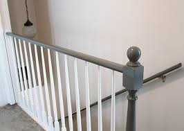Painting Banister Spindles Painted Stair Railings Probrains Org