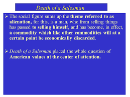 Death Of A Salesman Theme Of Alienation | arthur miller death of a salesman biffhappy willylinda ppt download